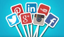 Main social networks – Brands