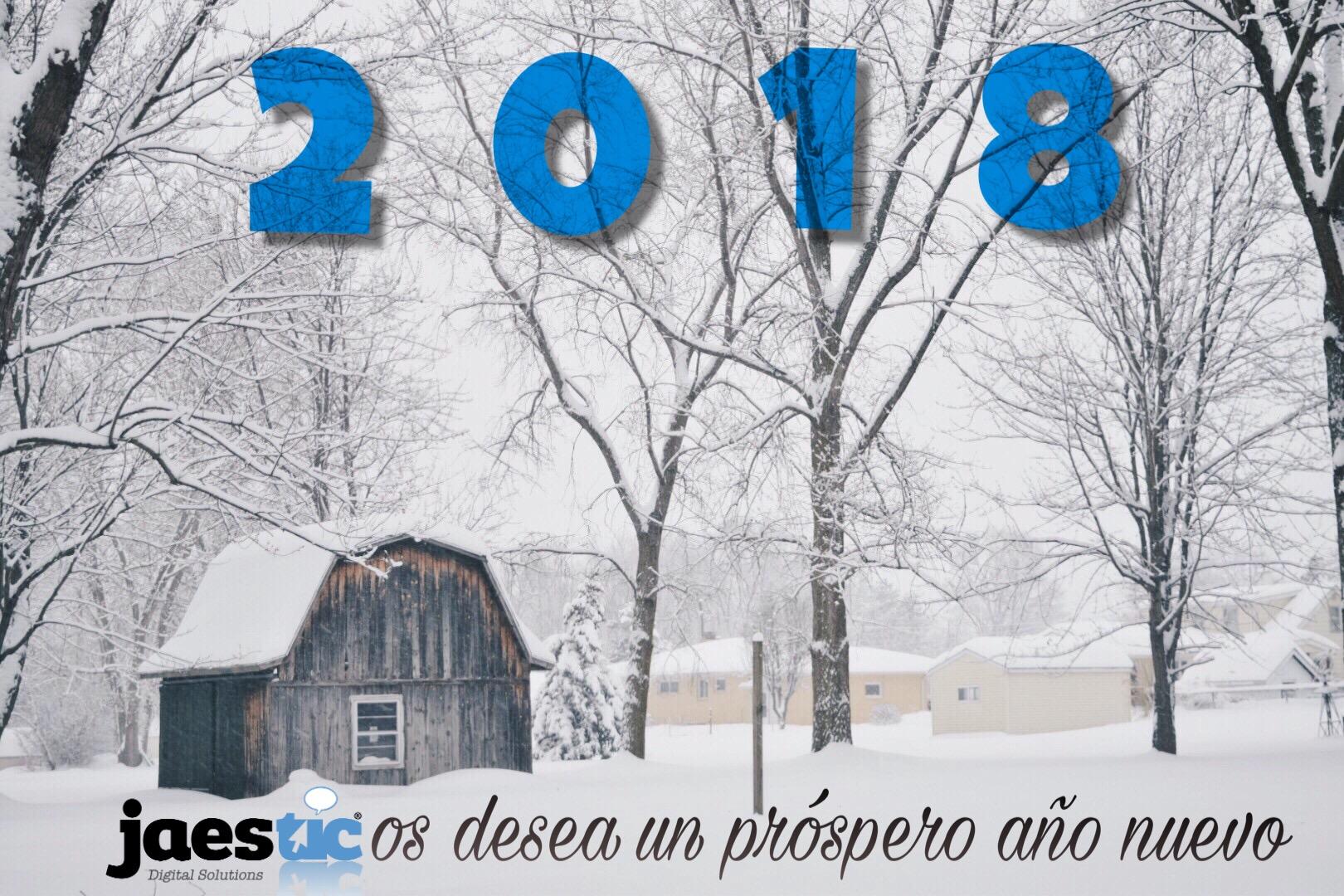 Feliz Año desde Jaestic